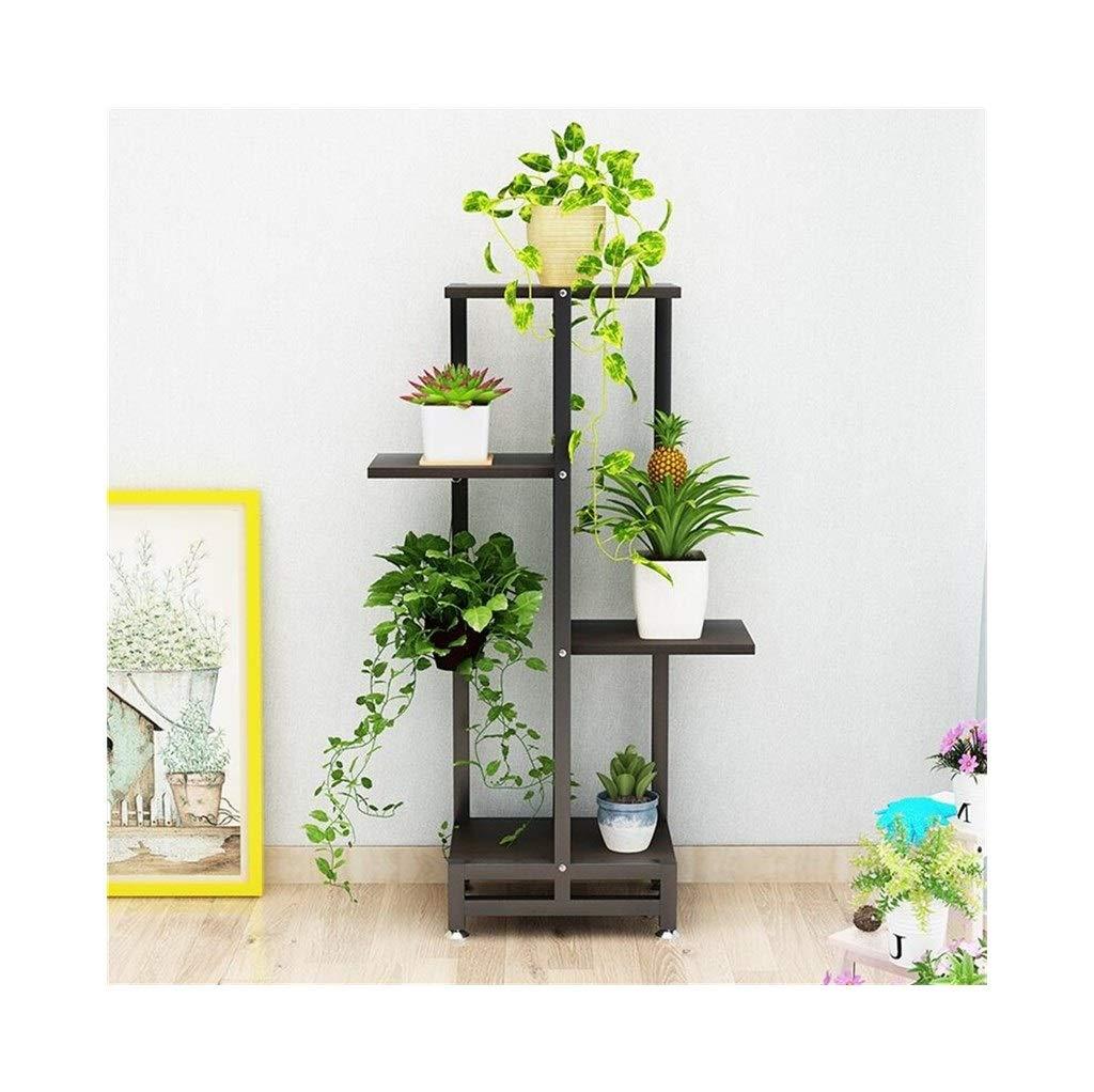 植物収納ラック 錬鉄製のフラワースタンド、多層フロアスタンドフラワースタンド、リビングルーム/バルコニー用装飾フラワースタンド (Color : #3) B07TCKGX63 #3
