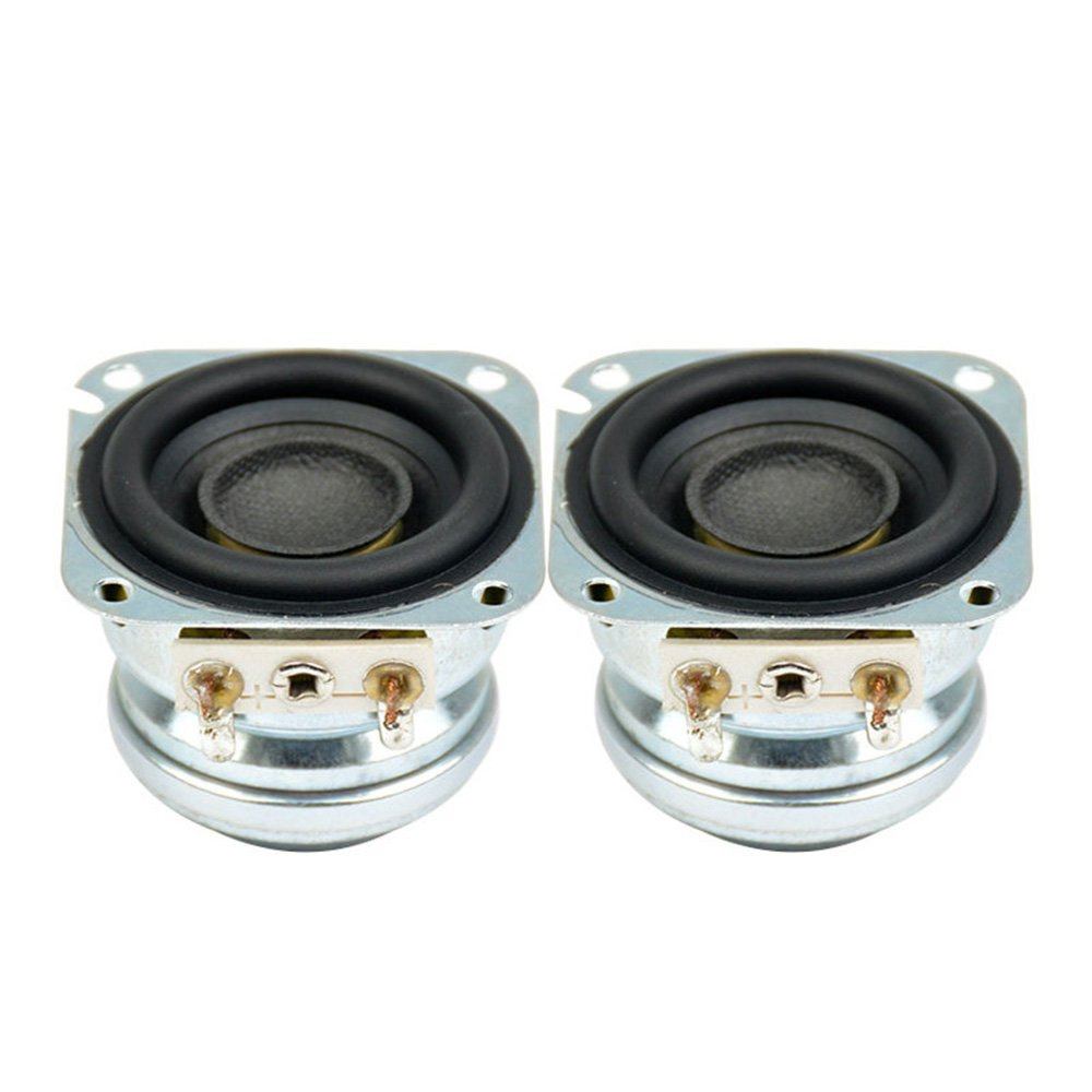 AIYIMA 2Pcs 1.5Inch Audio Portable Speakers 4Ohm 5W 10 W Full Range Neodymium Magnetic Bass Speaker Stereo Diy Home Theater by AIYIMA