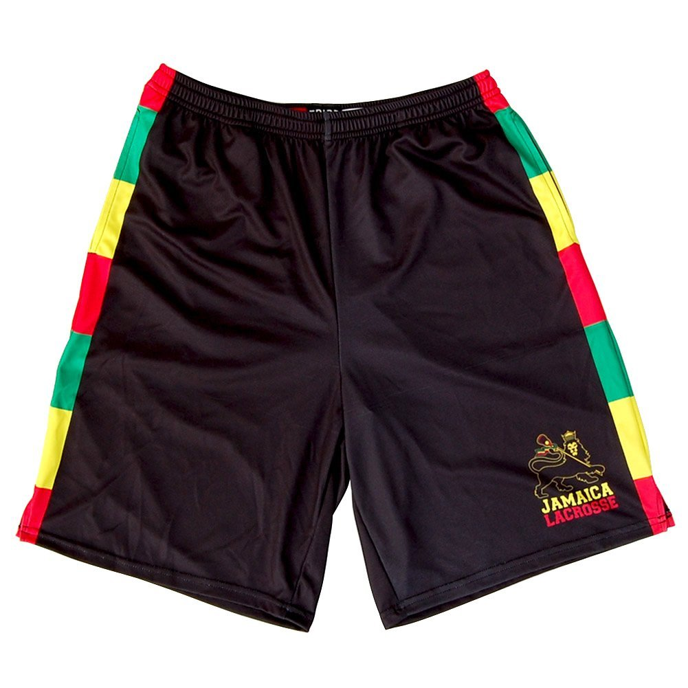 Jamaica Lions Sublimated Lacrosse Shorts