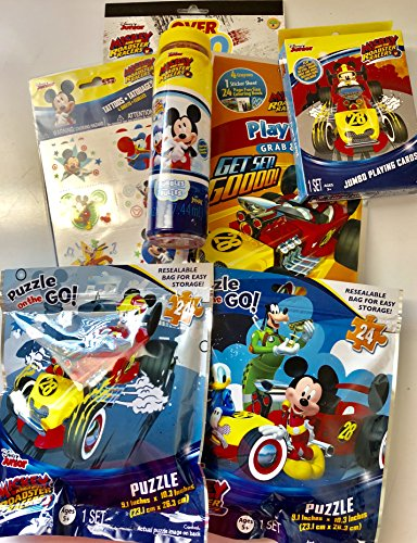 Mickey and The Roadster Racers Themed 7 Piece Bundle