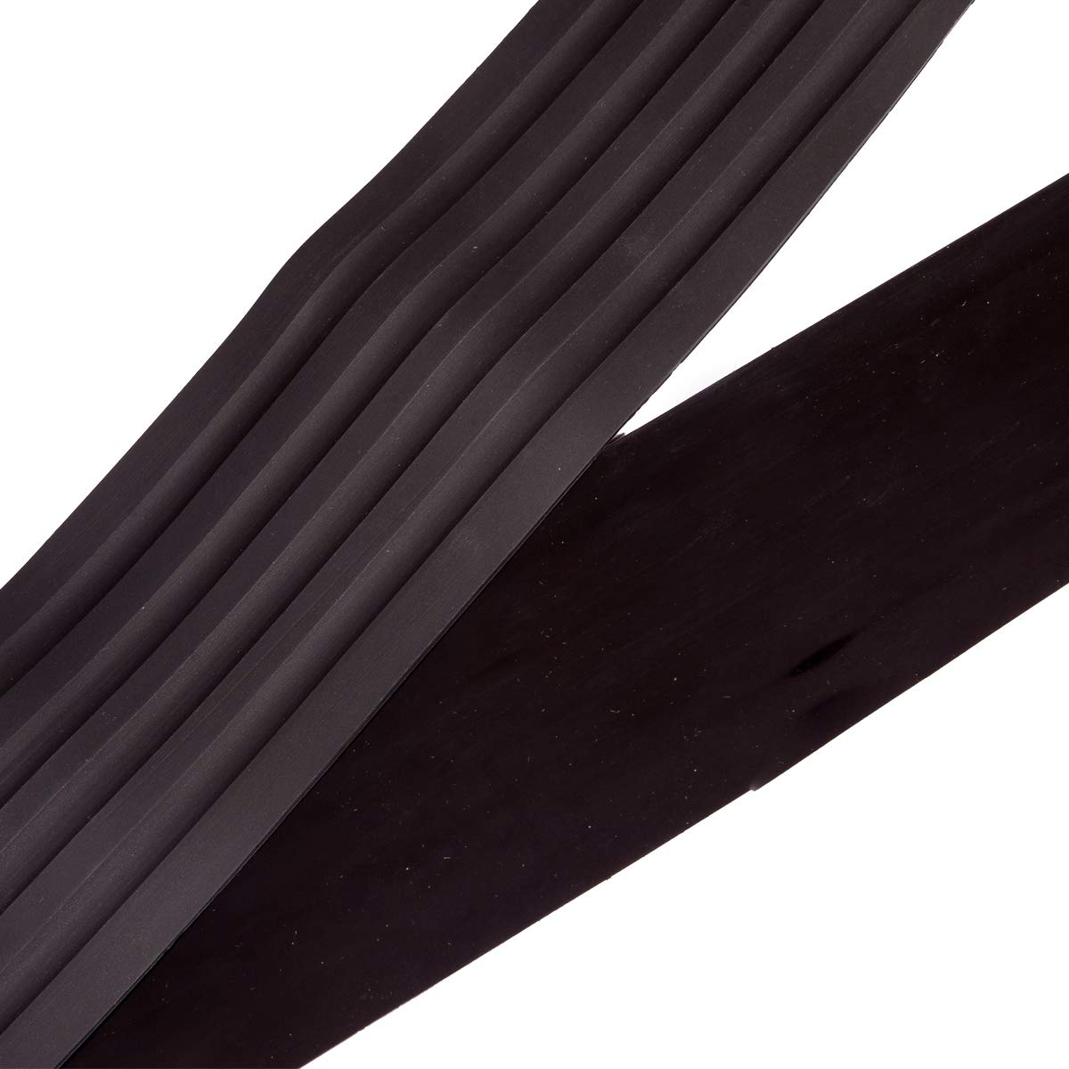 35.8inches WildAuto Rear Bumper Protector Guard Black Rubber Door Sill Guard for Car Pickup SUV Truck with 2 Pack 3M Tape