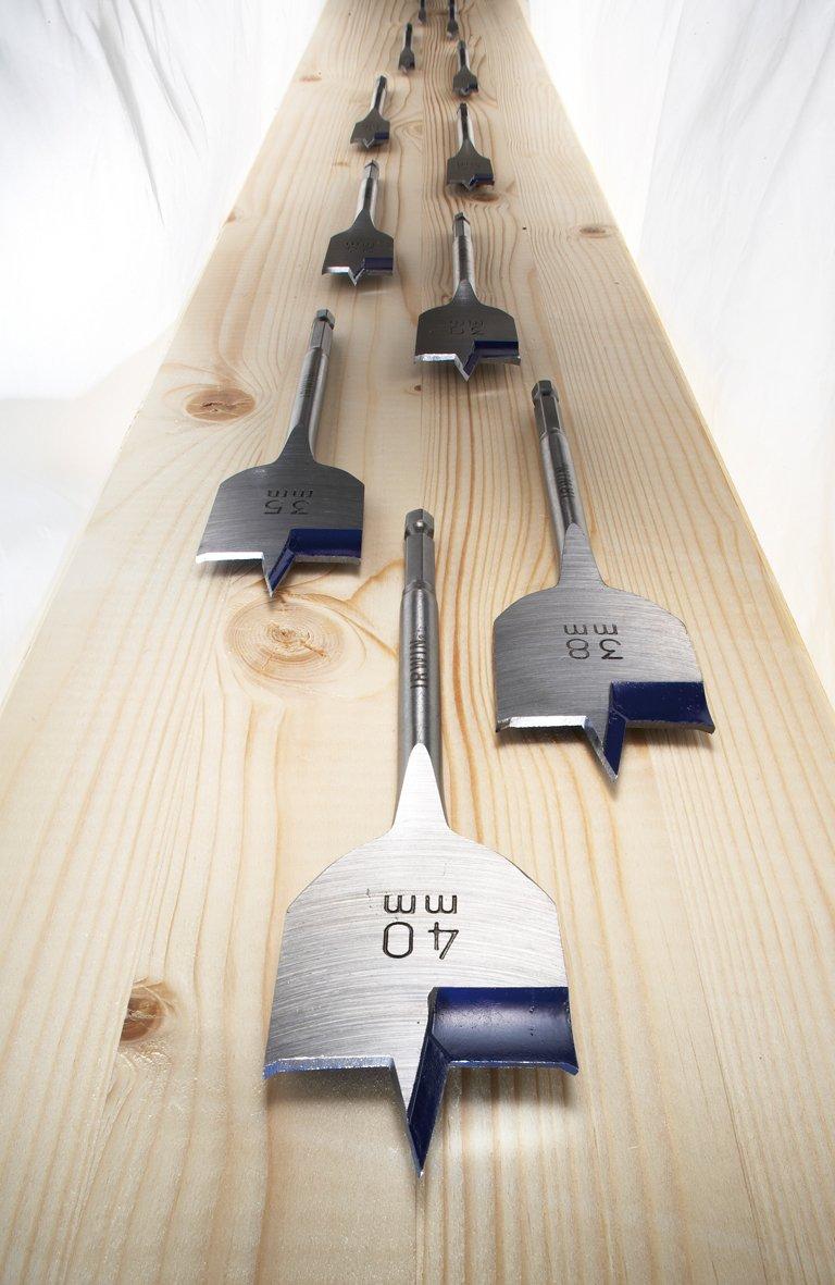 Irwin 10502818 M/èche /à Bois Plate Blue Groove 4X 28x152mm Argent//Bleu
