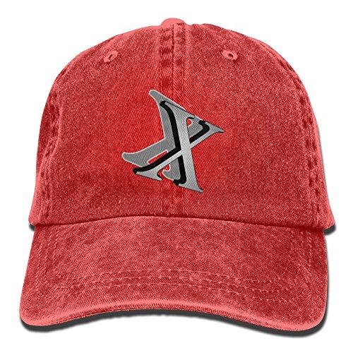 Headgear Cap Denim (Mens Girl's HipHop Cap,X Letter Denim Hat For Man Woman Unisex)