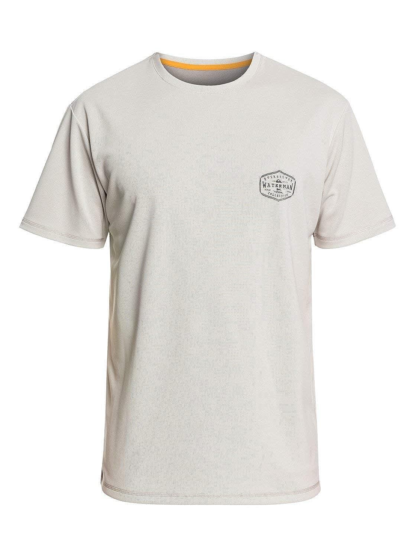 Quiksilver Mens Gut Check Short Sleeve Rashguard UPF 50 Sun Protection