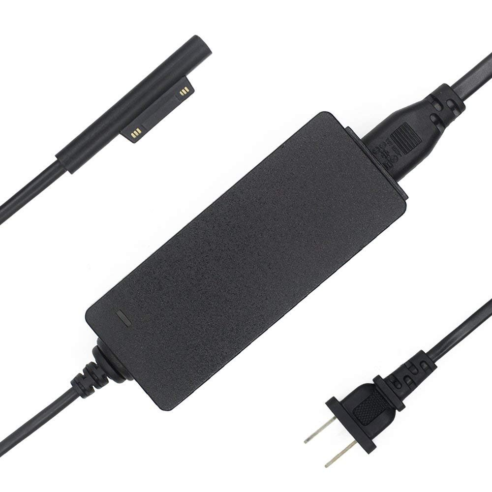 Surface Pro 3 Pro 4 Pro 5 Power Supply 36W 12V 2.58A Surface Pro Charger for Microsoft Surface Pro 3 Pro 4 Pro 5 Tablet with 7.88Ft Power Cord by VHBW (Image #1)