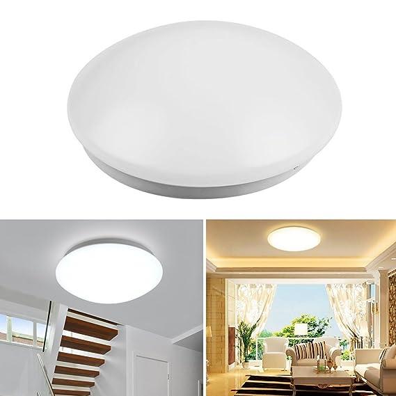 Led de techo de luz 6500K 15W de inducción inteligente de ...