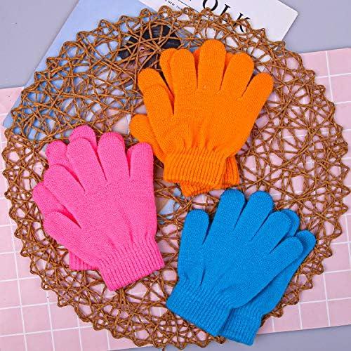 Cooraby Lot de 6 paires de gants en tricot pour b/éb/é