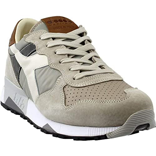 f45cfd50b3d3 Diadora Mens Trident 90 NYL Casual Athletic   Sneakers Grey
