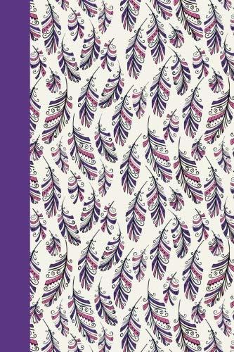 Journal: Feathers (Purple) 6x9 - DOT JOURNAL