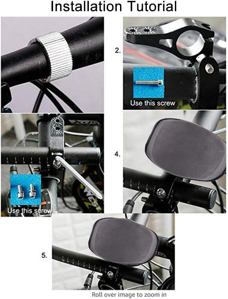 Manillar de Descanso de Bicicleta de aleaci/ón de Aluminio Estable con coj/ín de Esponja para Bicicleta de Carretera MTB VGEBY1 Manillar de Descanso para Bicicleta