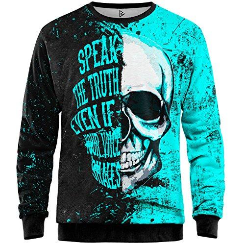 Blowhammer - Sweatshirt Herren - Stoned Skull SWT