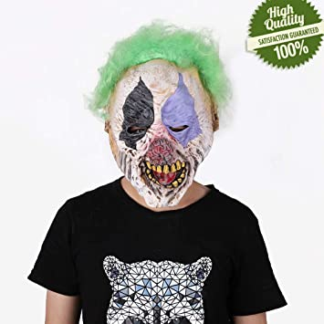 Terror Máscara de Halloween, Morbuy Adulto Látex Novedad ...