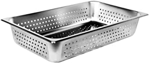Full Size Perforated Stainless Steel Food Pan 4