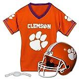 Franklin Sports NCAA Clemson Tigers Helmet and Jersey Set