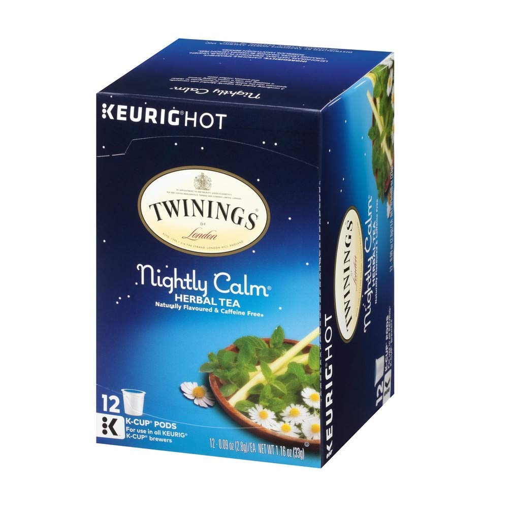 Twinings Nightly Calm K-Cups, 72 Count by Twinings