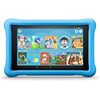"Fire HD 8 Kids Edition Tablet, 8"" HD Display, 32 GB, Blue Kid-Proof Case"