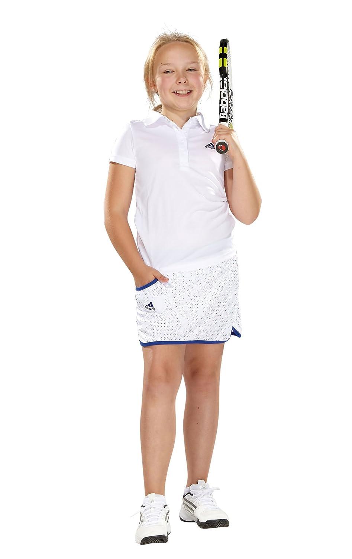 adidas - Falda de pádel para niña, tamaño 7 años, Color Blanco ...