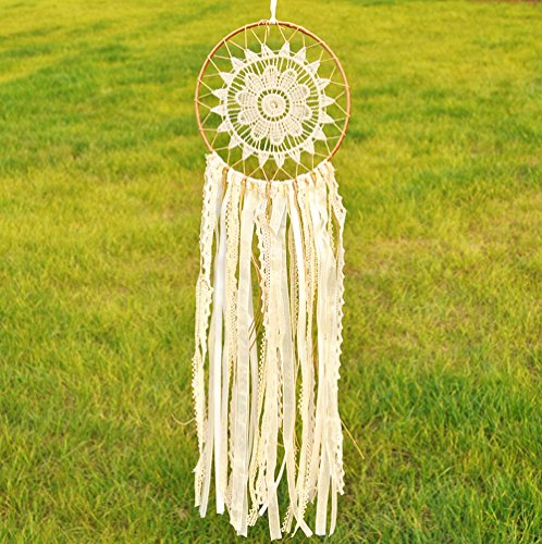 Dream Catcher Decor, Creative India Style Handmade Dreamcatcher Lace Wall Hanging Home Decoration Ornament Craft Gift
