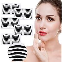 Eyeliner sticker,40Pairs Makeup Breathable Double Eyelid Tape - Single Side Double Eyelid Stickers Big Eye Decoration…