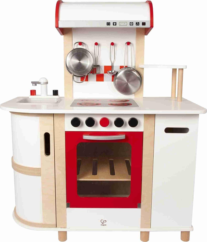 Spielküche Holz Weiß - Hape Küchentraum