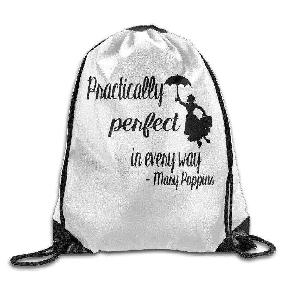 Wellay Mary Poppins - Mochila con cordón para Gimnasio: Amazon.es: Deportes y aire libre