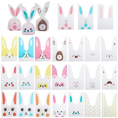 PandaHall 100 Pcs Bolsas para Orejas Bunny Bolsas Plásticas ...