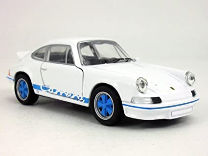 4.5 inch 1973 Porsche 911 Carrera RS 1/32 Scale Diecast Model by Welly -