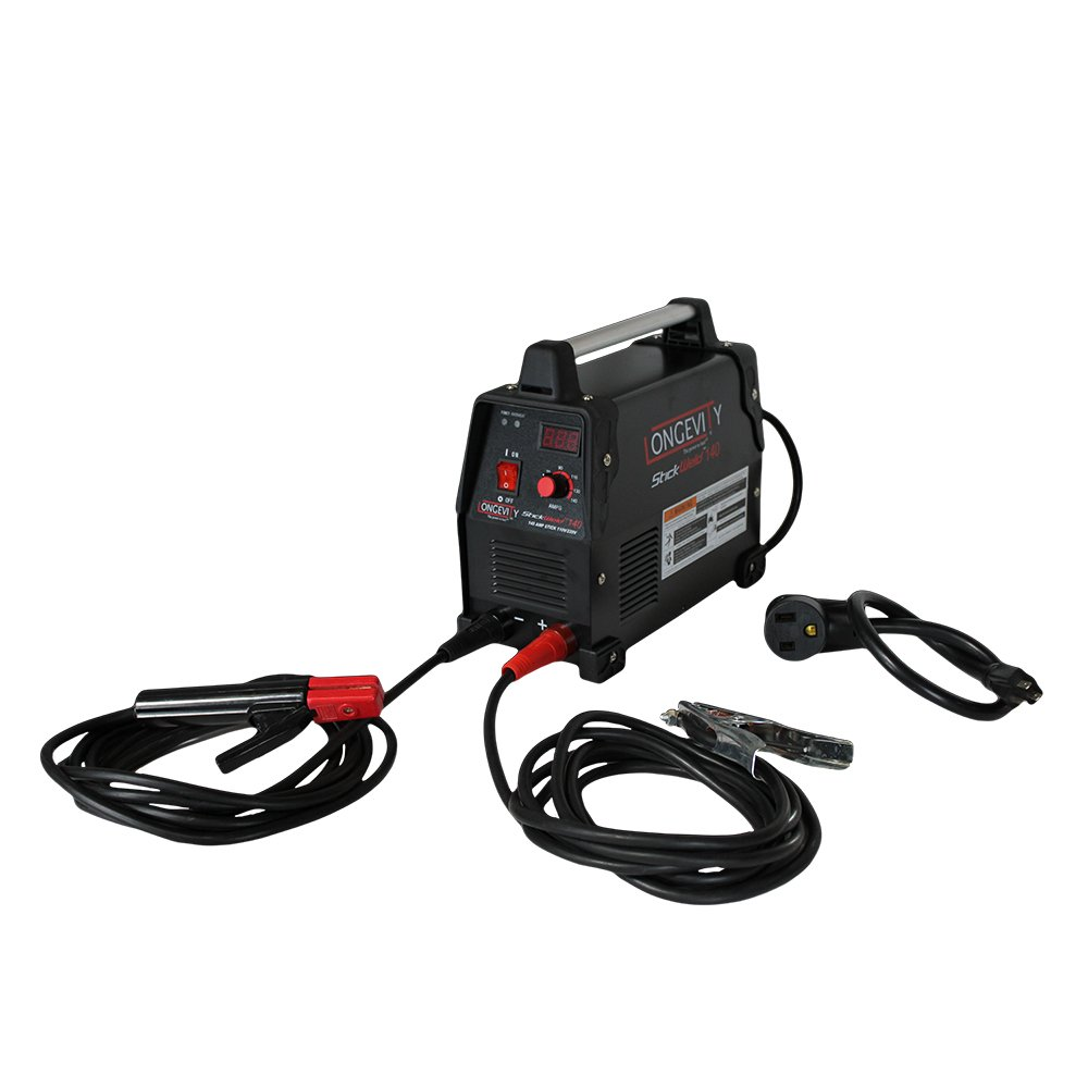 LONGEVITY 721405557523 Stickweld 140 140-AMP Dual Voltage Protable Stick Welder by Longevity (Image #1)