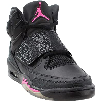 newest 5dbf8 e8c60 Jordan Air Son of Mars Kids Black Pink Size 5 Youth