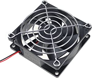 GDSTIME 80mm x 80mm x 25mm 12V Brushless DC Cooling Fan