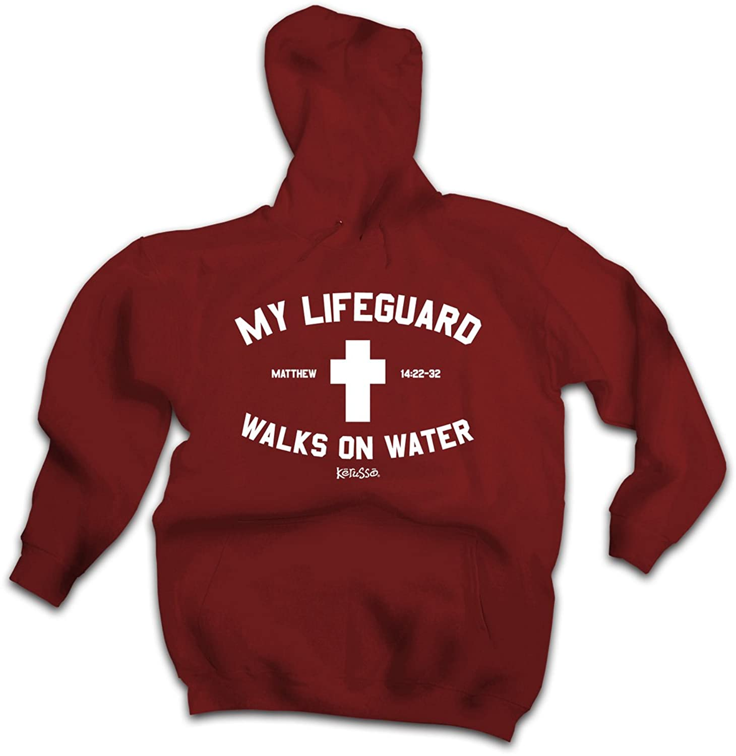 Christian Hoodie - Lifeguard for cheap