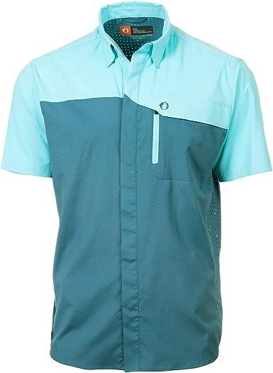 American Outdoorsman - Camisa de Pesca de Manga Corta para Hombre