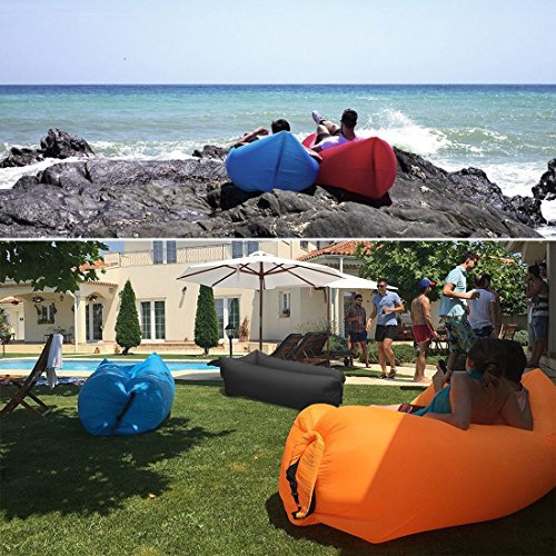 Inflatable Lounger Wind Breezy Pouch Couch Windbed Cloud