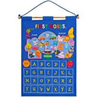 freneci Calendar Children Learning Frog Toy Cognition Early Education for - Blue, 17.12x25inch