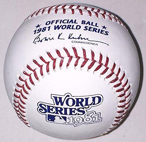 1981 World Series - Rawlings Official 1981 World Series Baseball
