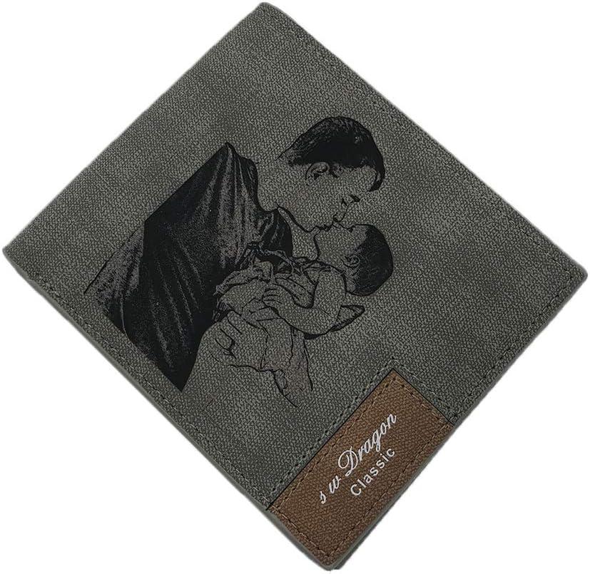 Amazon.com: Carteras personalizadas para hombre, doble ...
