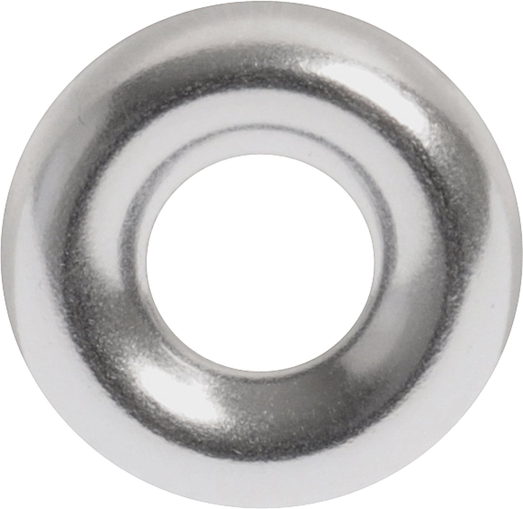 The Hillman Group 1259#8 Aluminum Countersunk Finishing Washer 40 Pack