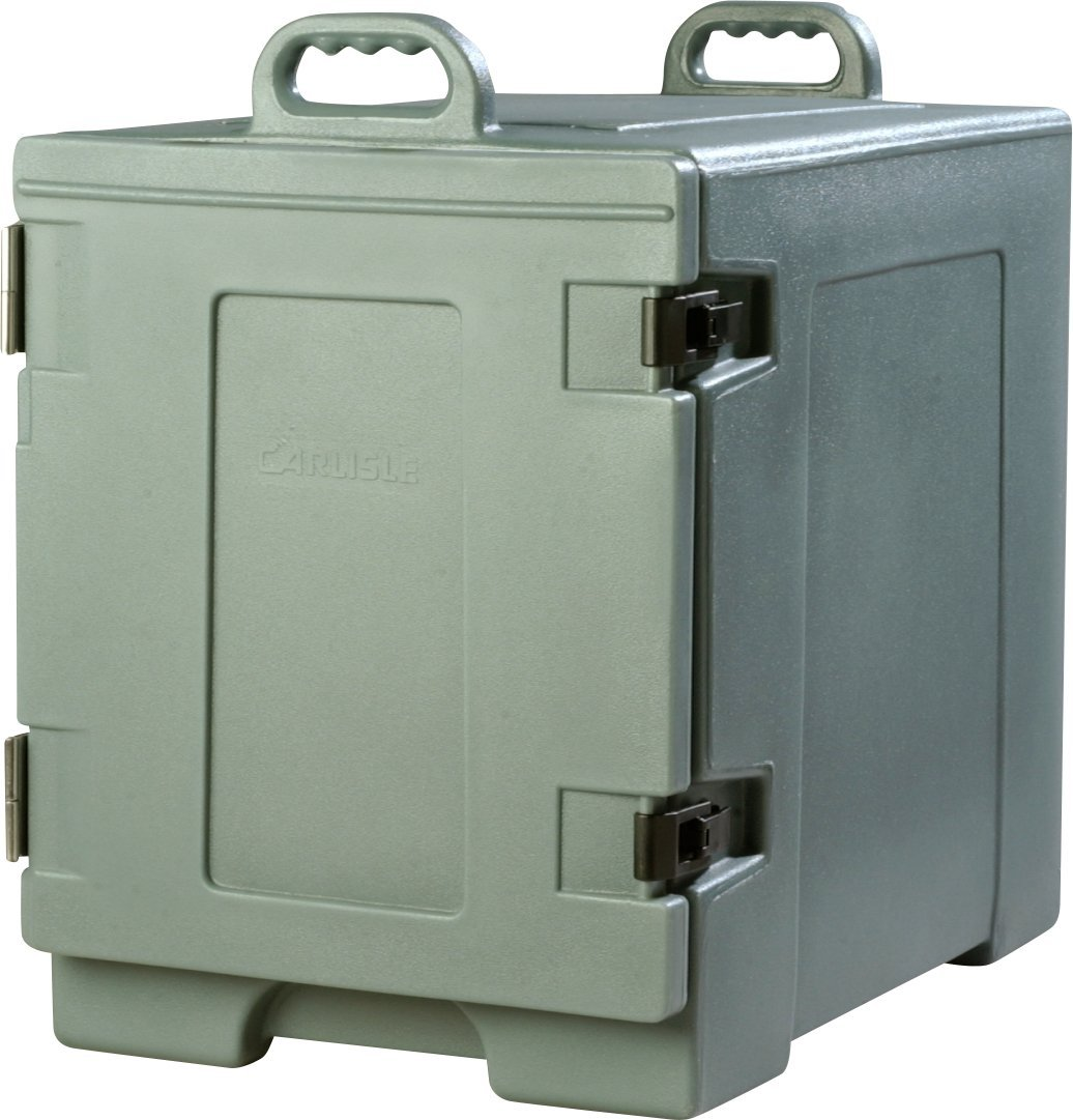 Carlisle PC300N59 Cateraide End-Loading Insulated Food Pan Carrier, 5 Pan Capacity, Slate Blue