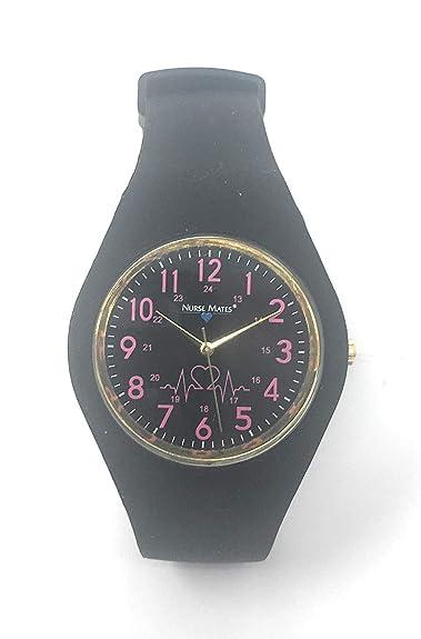 Amazon.com: Reloj Nurse Mates color rosa Uni, especiales ...