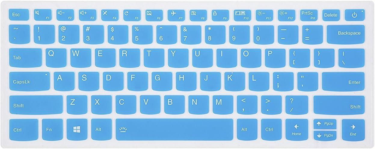 "Keyboard Cover for Lenovo Flex 14 14"", Flex 15 15.6"", Yoga C940 C930 920 13.9"", Yoga C940 C740 14, Yoga 720 720S 730 13.3"", Yoga 730 15.6"", ideapad 720s 13"" 14"" Laptop - Blue"