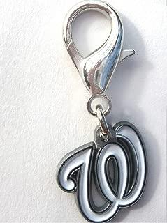 product image for Diva-Dog MLB Baseball 'Washington Nationals' Licensed Team Dog Collar Charm