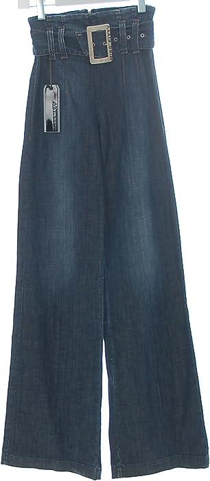 gutes Geschäft amazon geschickte Herstellung Miss Sixty Damen Jeans Hose Marlene High Waist Gürtel ...