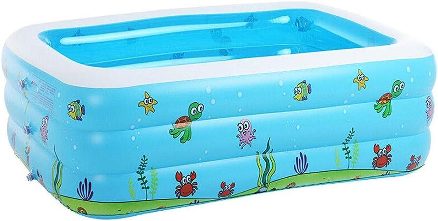 HEROTIGH Piscinas Hinchables Familia Extra Grande Gruesa Doméstica Infantil Inflable 1.1 M Inflatable Pool: Amazon.es: Hogar