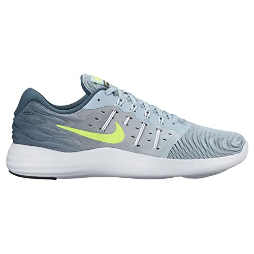 737b5d9731e2 NIKE Men s LUNARSTELOS Blue Grey Running Shoes (11 UK INDIA)  Buy Online at  Low Prices in India - Amazon.in
