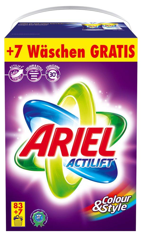 Ariel Regular Paquete de transporte color y Style XXXL - 83 + 7wl ...