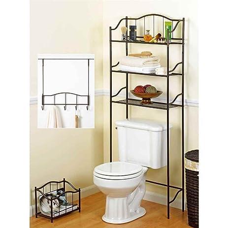 Amazon Com Creative Bath 3 Piece Complete Bath Set Bronze Home