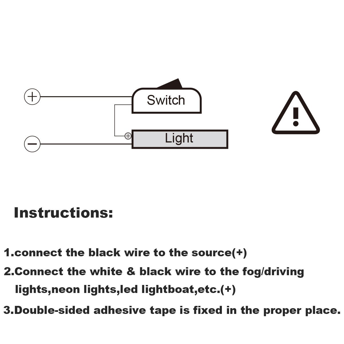 Car Push Button Switch Diy Off On Universal Dc12v Light Wiring Along With Led Diagram Together Driving For Fog Lights Neon Bar Etc Automotive