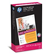 HP Printer Paper, Multipurpose20, 8.5 x 14, Legal, 20lb, 96 Bright, 500 Sheets/1 Ream (001420R) Made In The USA