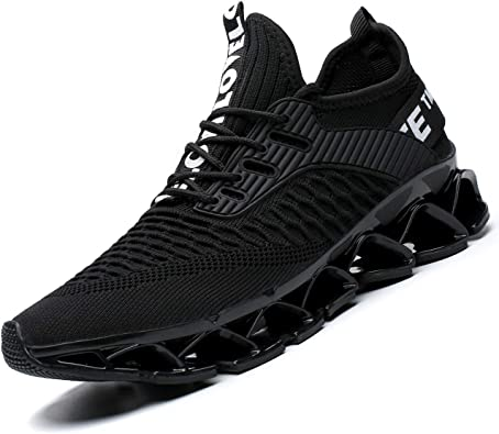 Fall Men Women Ultra-light Round Toe Casual Shoes Mesh Running Athletic Sneakers