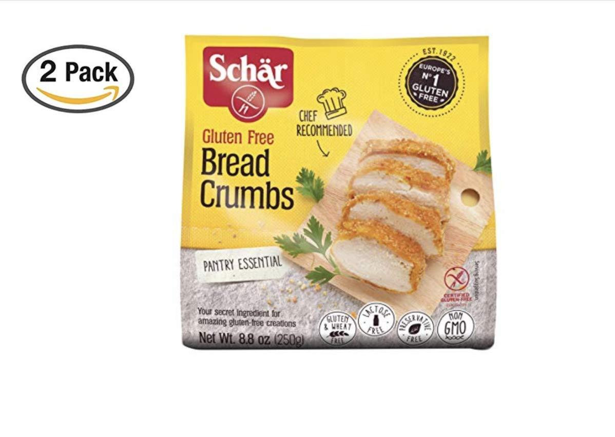 Schar Gluten Free Bread Crumbs - Net Wt. 8.8 oz. (2 Pack)
